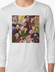 Daria Collage Long Sleeve T-Shirt