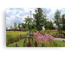 Welcome to the Saxon Garden Show Canvas Print