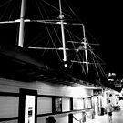 Along the pier by Joseph  Tillman