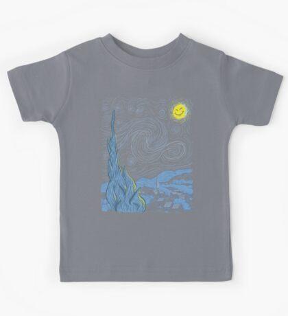 Van Gogh on Prozac Kids Tee