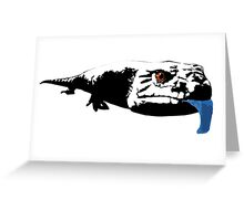 Another Blue Tongue Greeting Card