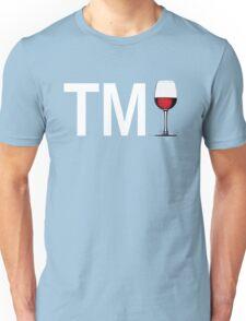TM Wine (White Ink/Red Wine) Unisex T-Shirt