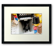 How did you find out about the new Batcave? Framed Print