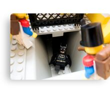 How did you find out about the new Batcave? Canvas Print