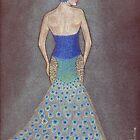 Peacock Fashion Inspiration by Nicole I Hamilton