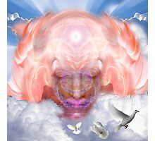 Angel where doves fly Photographic Print