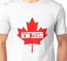 Eh team canada maple leaf geek funny nerd Unisex T-Shirt