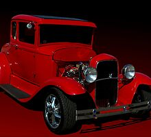 1930 Ford Model A Hot Rod by TeeMack
