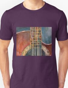 Ovation Acoustic Red Guitar T-Shirt