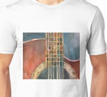 Ovation Acoustic Red Guitar Unisex T-Shirt
