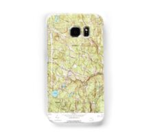 Massachusetts  USGS Historical Topo Map MA Ashby 350802 1965 25000 Samsung Galaxy Case/Skin