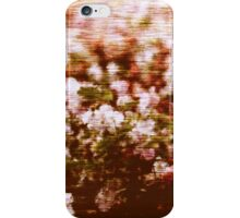 Impressionistic summer flowers blossom iPhone Case/Skin