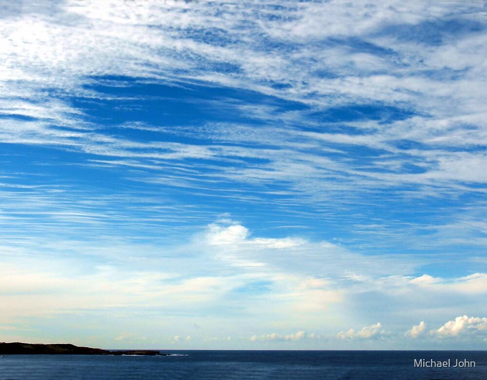 Skyscape over Sydney by Michael John