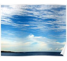 Skyscape over Sydney Poster