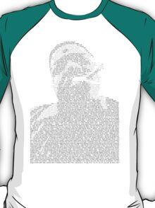 Biggie Lyric Portrait T-Shirt