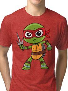 He's cool, but rude. Tri-blend T-Shirt