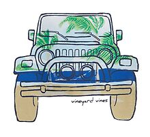 vineyard vines car by Emily Grimaldi