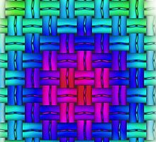 abstract, contemporary pattern by Hujer