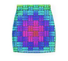 abstract, contemporary pattern Mini Skirt