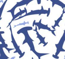 Hammerhai hammerhead shark scuba diving geek funny nerd Sticker