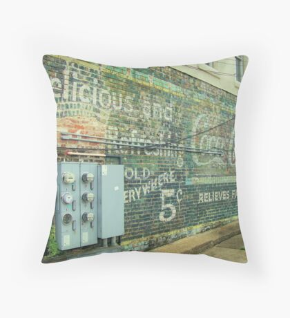 Coca-Cola Days Gone By #2 Throw Pillow