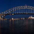 Sydney by Night. by Ian Fraser