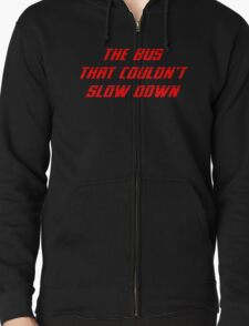 The Bus That Couldn't Slow Down shirt – Speed Parody, The Simpsons T-Shirt