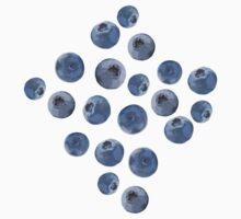 Blueberry pattern T-Shirt