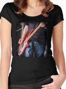 Rickenbacker bass Women's Fitted Scoop T-Shirt
