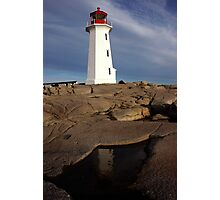 Late Afternoon - Peggys Cove Photographic Print