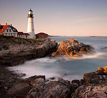 -Portland Head Light, Maine- by Patrick Downey