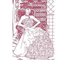 La novia Photographic Print