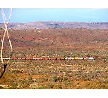 Iron Ore Train Photographic Print