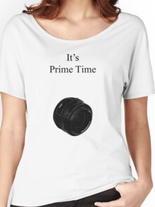 Prime Time Light Colored Women's Relaxed Fit T-Shirt