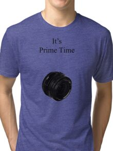 Prime Time Light Colored Tri-blend T-Shirt