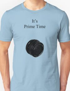 Prime Time Light Colored T-Shirt