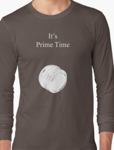 Prime Time Dark Colored Long Sleeve T-Shirt