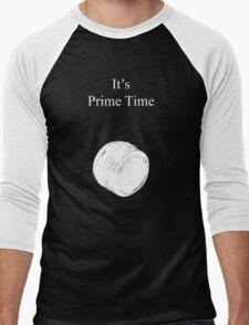 Prime Time Dark Colored Men's Baseball ¾ T-Shirt