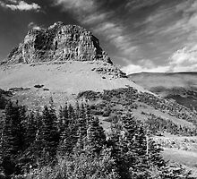 Glacier NP black and white by JimGuy