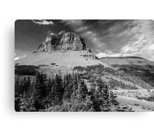 Glacier NP black and white Canvas Print