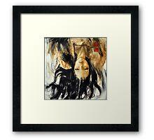 fallen angels (practice) Framed Print