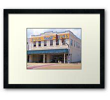 Gillis ReXall Drugstore - McComb, MS Framed Print