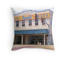 Gillis ReXall Drugstore - McComb, MS Throw Pillow