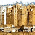"""""""The Oldest Skyscraper City in the World"""" , Shibam, Yemen by Dennis Melling"""