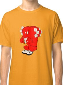 Gossamer reading  full color geek funny nerd Classic T-Shirt