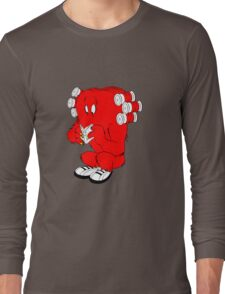 Gossamer reading  full color geek funny nerd Long Sleeve T-Shirt