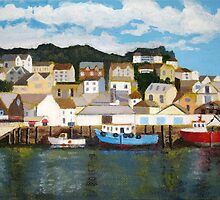 Looe Harbour Study. by Antony R James