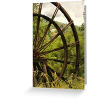 Kennedy Mine Tailing Wheel Greeting Card