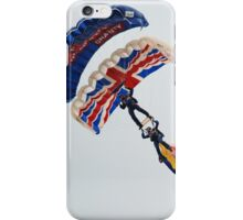 The Tigers parachute team iPhone Case/Skin