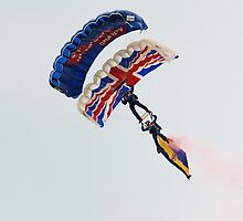 The Tigers parachute team by David Fowler